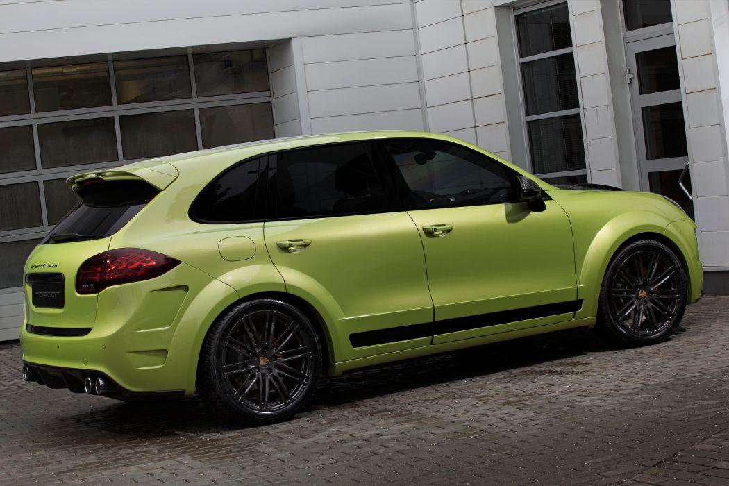 TopCar Vantage 2 cars suv porsche cayenne modified (958) 2015 wallpaper