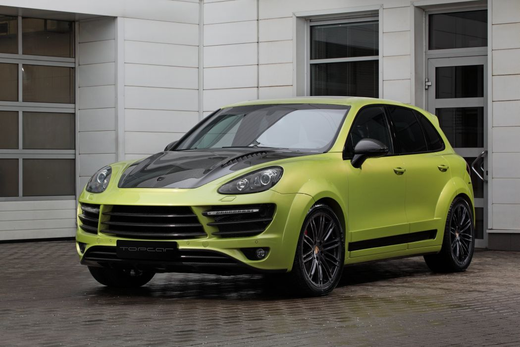 TopCar Vantage 2 cars suv porsche cayenne modified (958) 2015 wallpaper