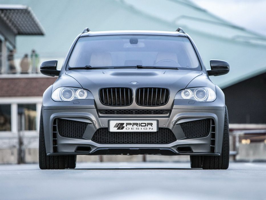 Prior -Design PD5X bmw x5 suv cars modified black Matt (E70) 2014 wallpaper