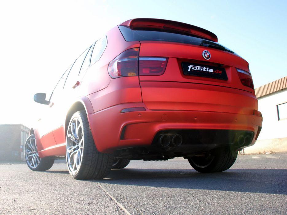 Fostla BMW X5 M (E70) cars modified 2014 wallpaper