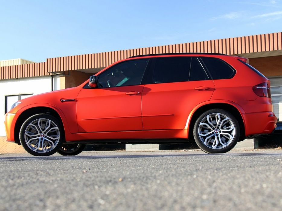 Fostla BMW X5 M (E70) cars modified 2014 wallpaper