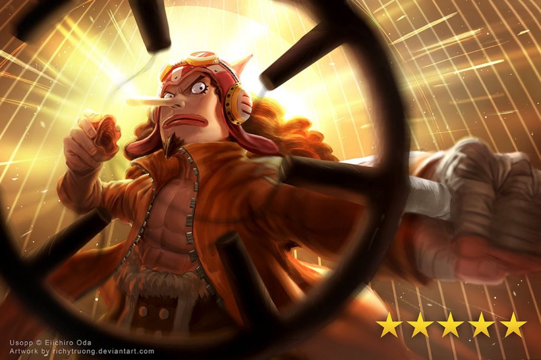 anime series onepiece usop male character wallpaper