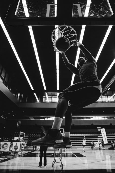 basketball male man sport amazing b-w basket slumdunk wallpaper
