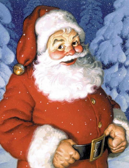 Santa Claus Christmas cute wallpaper