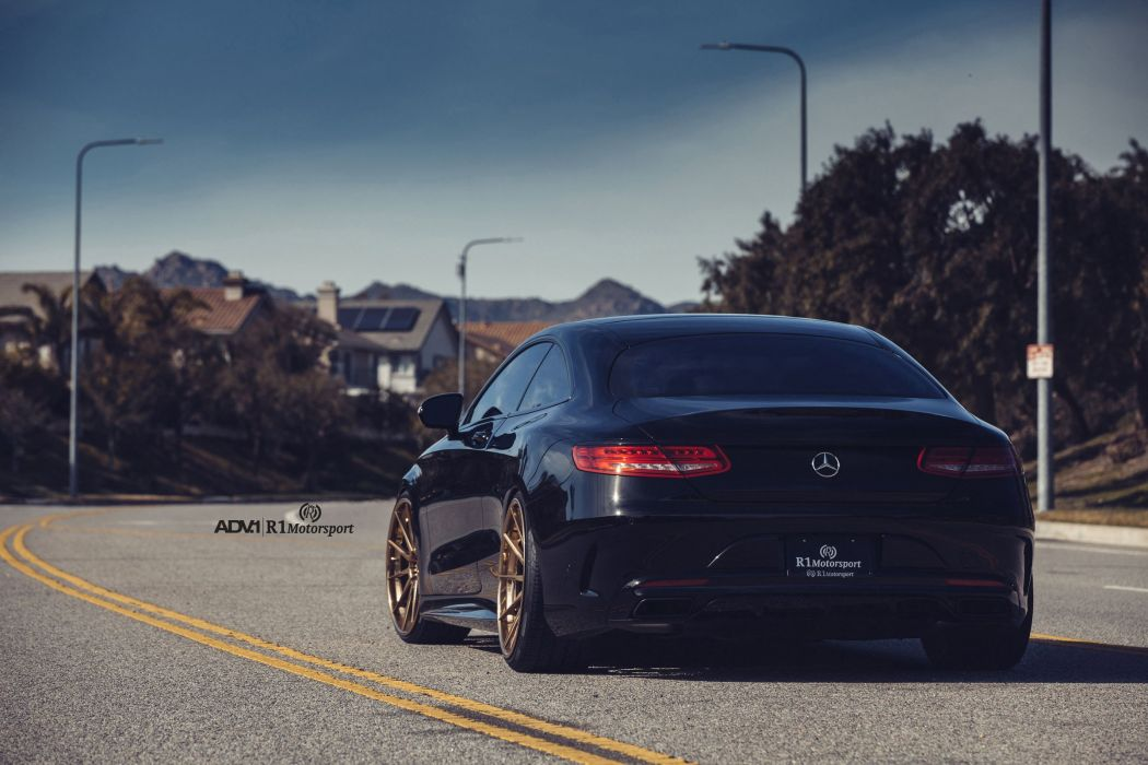 Mercedes S-Class Coupe cars ADV1 wheels wallpaper