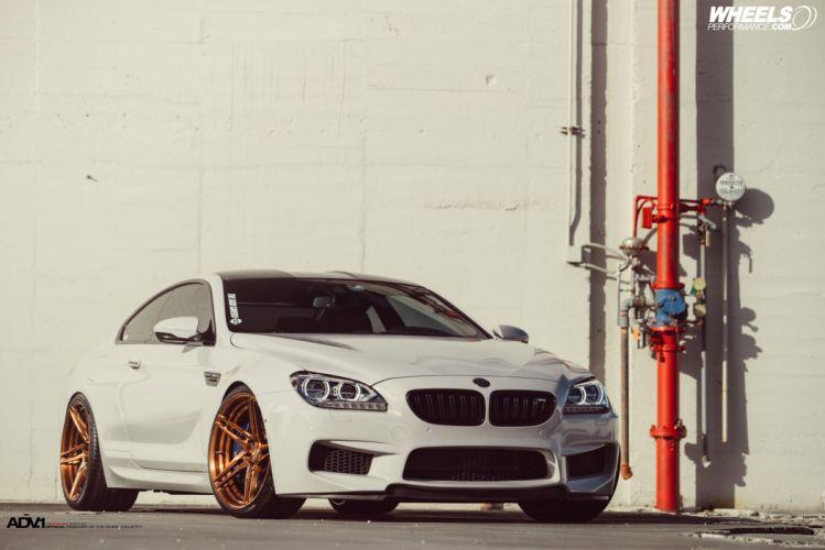BMW m6 F13 coupe cars ADV1 wheels wallpaper