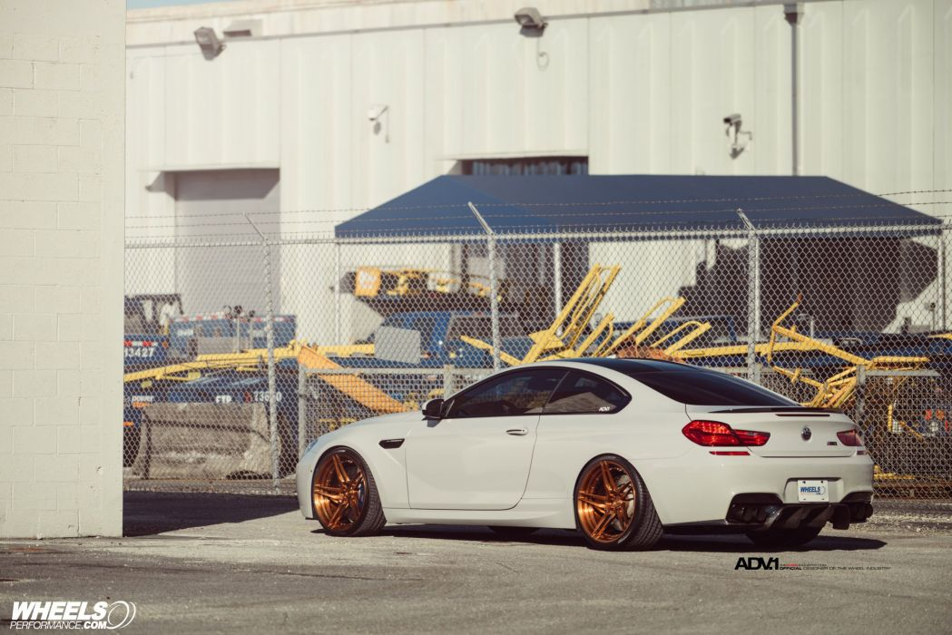 BMW m6 F13 coupe cars ADV1 wheels wallpaper