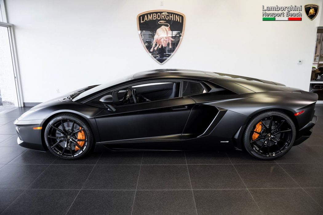 2014 Lamborghini Aventador LP 700-4 Coupe cars black wallpaper