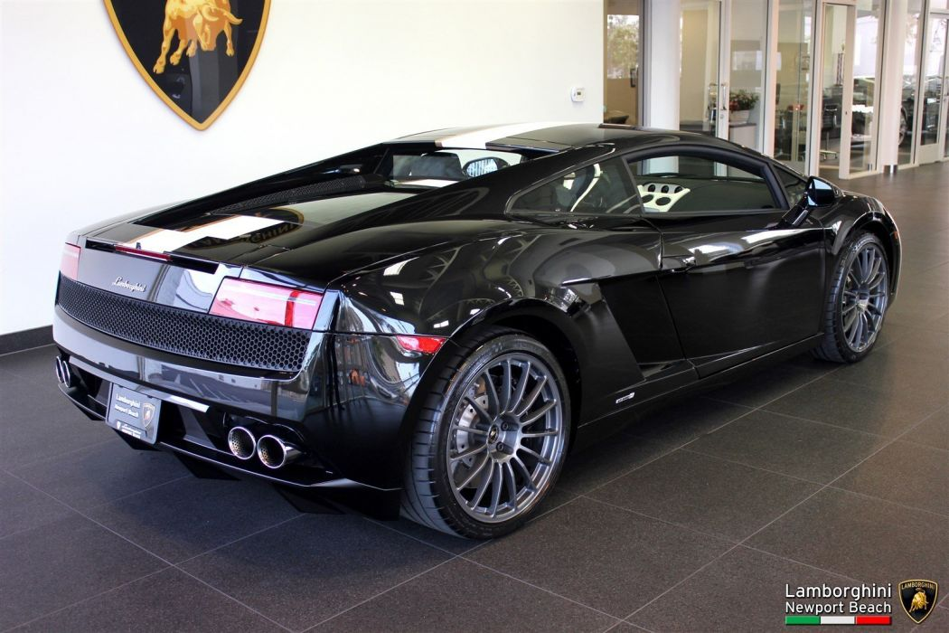 2010 Lamborghini Gallardo LP 550-2 Balboni Edition cars black wallpaper
