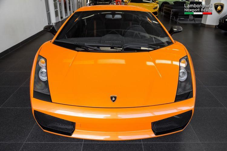 2008 Lamborghini Gallardo Superleggera cars orange wallpaper