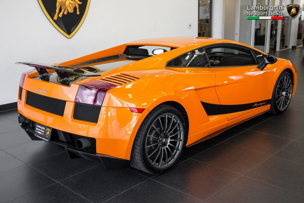 2008 Lamborghini Gallardo Superleggera Cars Orange Wallpaper