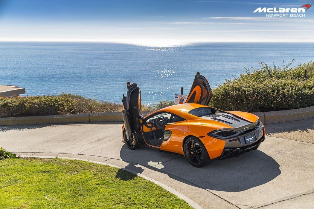 2016 McLaren 570S Coupe cars orange wallpaper