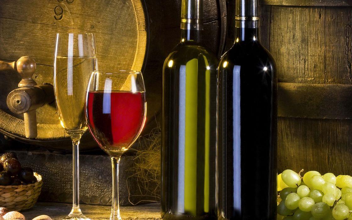 botellas vino copas vidrios wallpaper