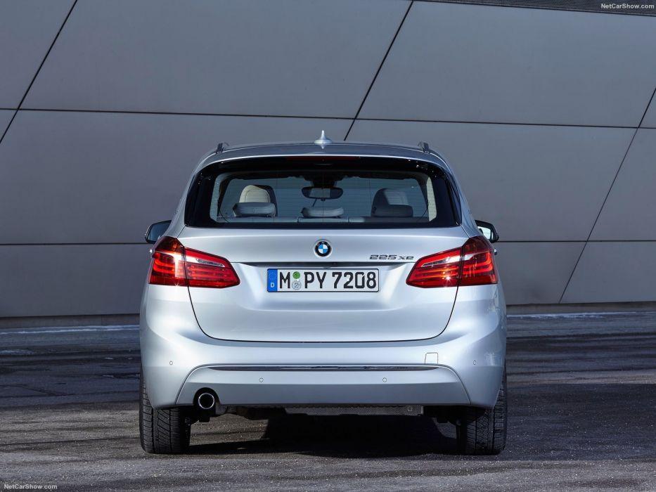 BMW 225xe Active Tourer cars 2016 wallpaper