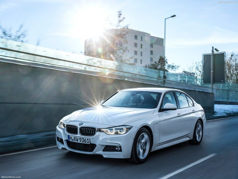BMW 330e cars sedan 2016 wallpaper