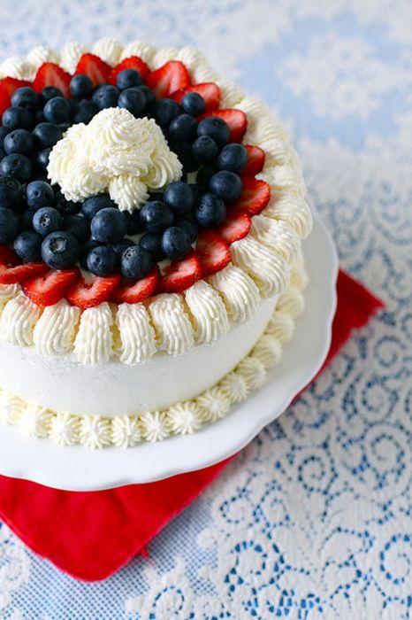 food cream cake fruits wallpaper