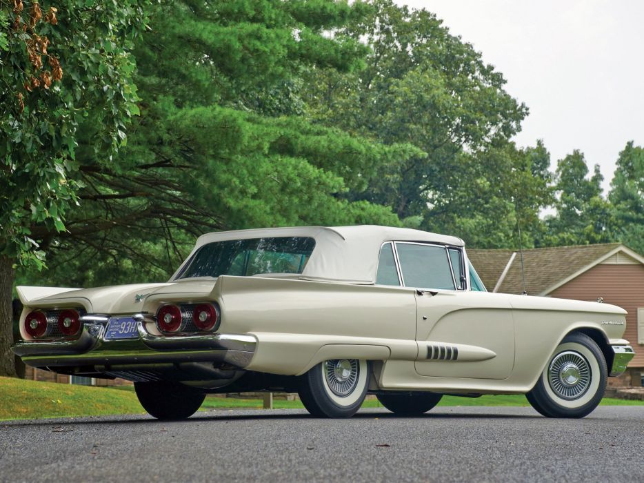 1958 Ford Thunderbird Convertible cars classic wallpaper