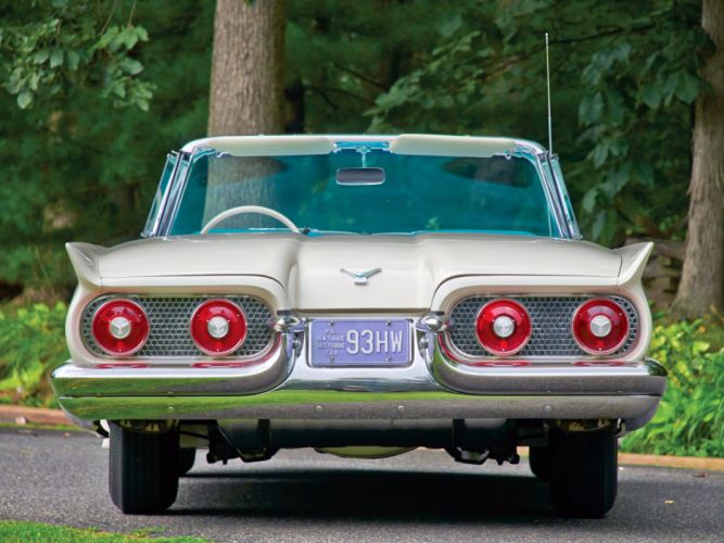 1958 Ford Thunderbird Convertible cars classic wallpaper