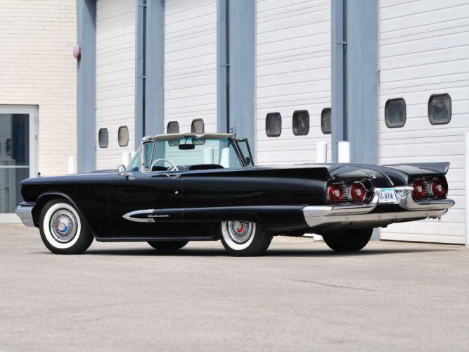 1959 Ford Thunderbird Convertible cars classic wallpaper
