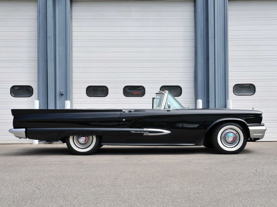 1959 Ford Thunderbird Convertible cars classic wallpaper