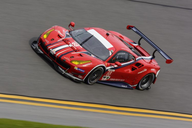 Ferrari 488 GTE cars racecars 2016 wallpaper