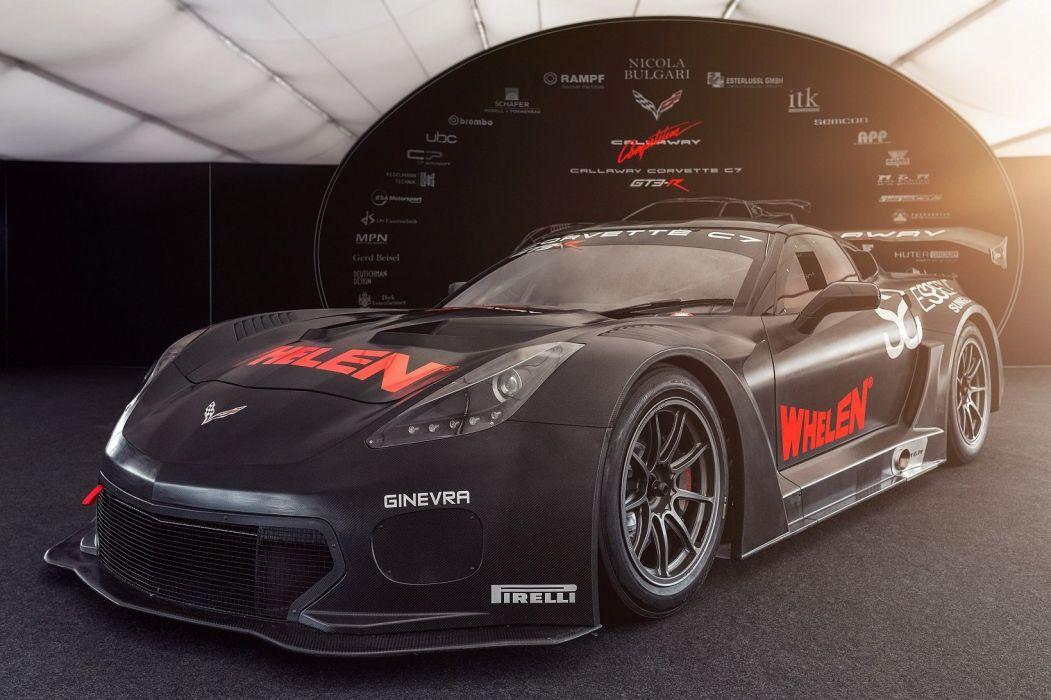 Callaway Corvette GT3-R (C7) cars racecars 2016 wallpaper