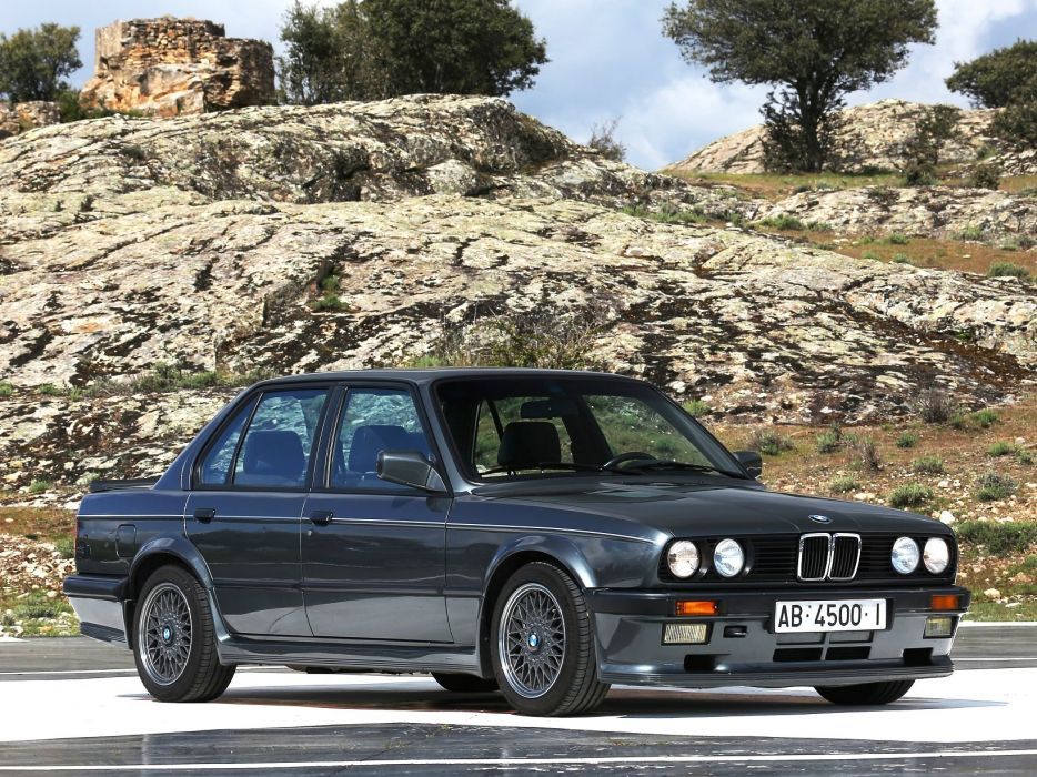 BMW 325i Sedan M-Technik (E30) cars 1984 wallpaper