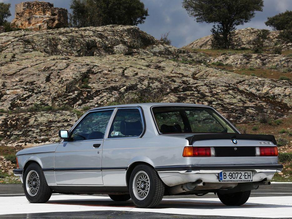 BMW 323i Coupe (E21) cars 1978 wallpaper