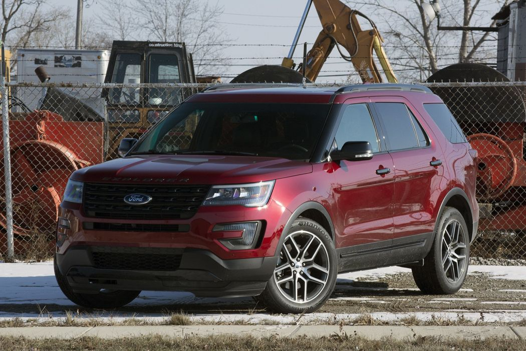 2016 Ford Explorer Sport cars suv 2016 wallpaper