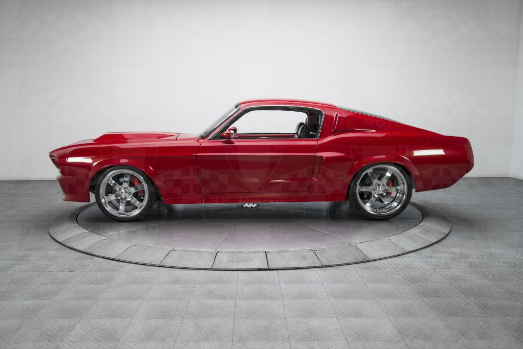 1967 Ford Mustang cars red modified wallpaper