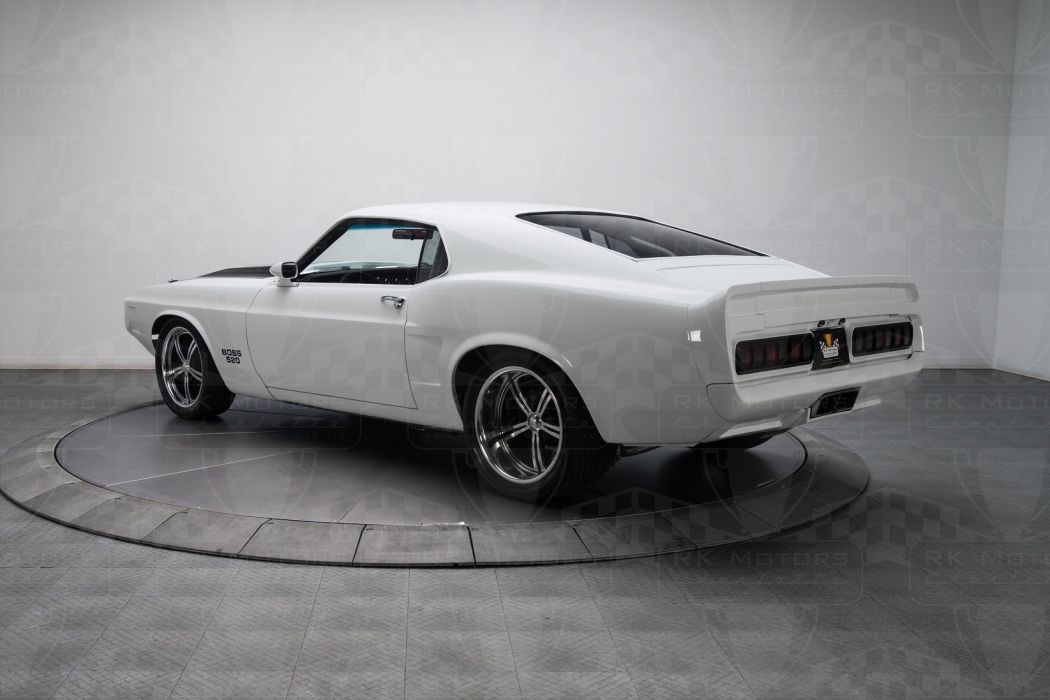 1970 Ford Mustang cars modified white wallpaper