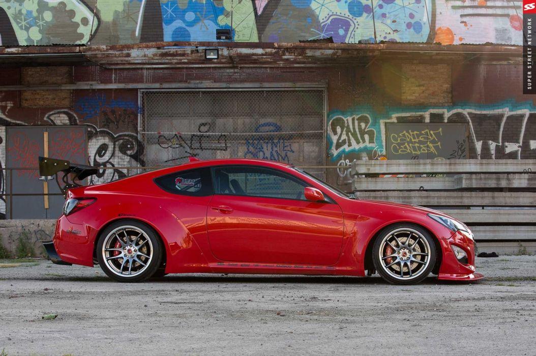 2014 hyundai genesis coupe cars wallpaper