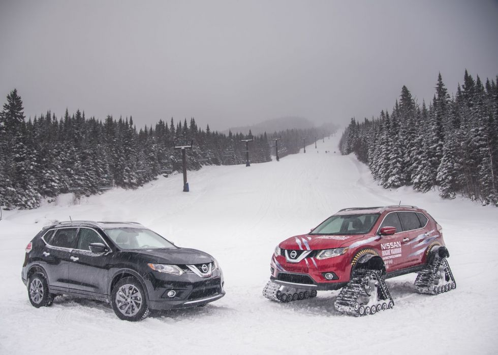Nissan Rogue Warrior Concept cars snow modified wallpaper