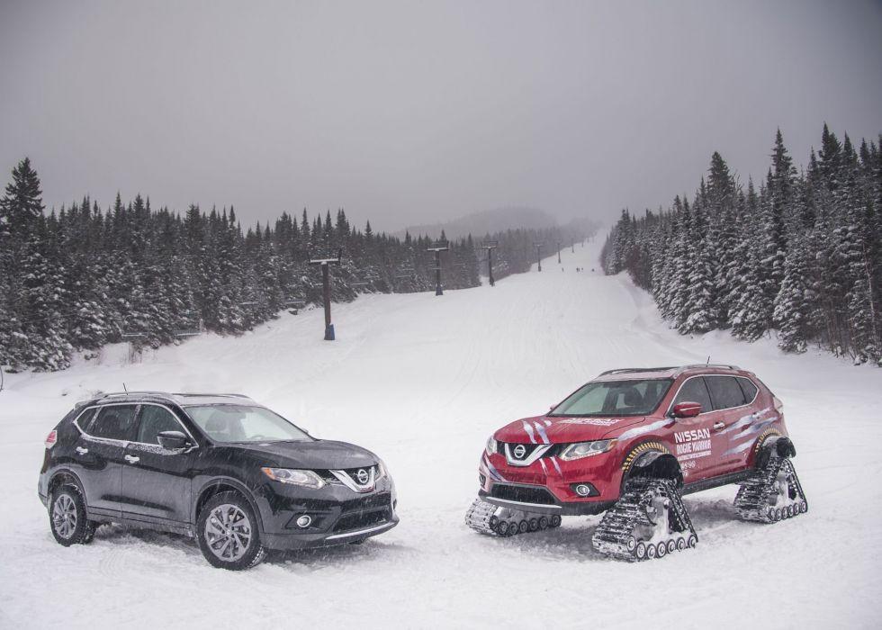 Nissan Rogue Warrior Concept cars snow modified wallpaper