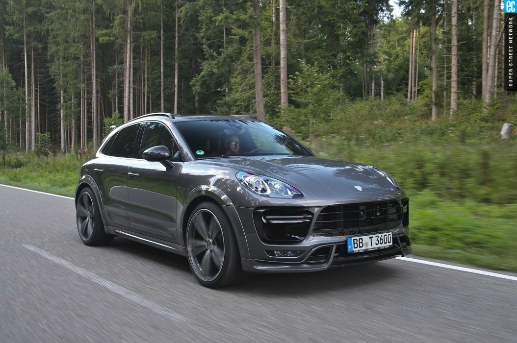 2015 techart porsche macan turbo cars modified wallpaper