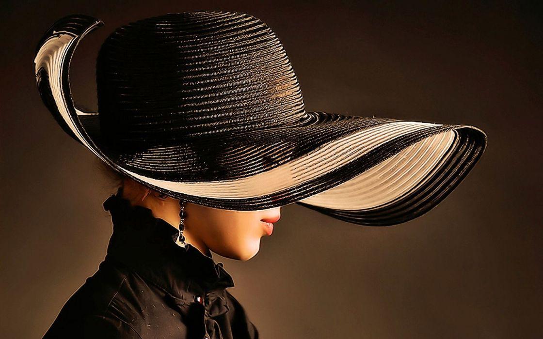 sombrero mujer grande wallpaper