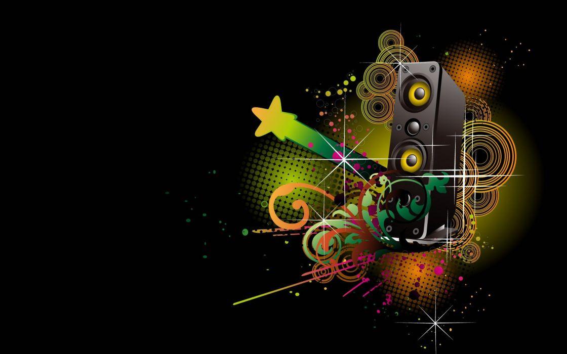 abstracto dark musical wallpaper