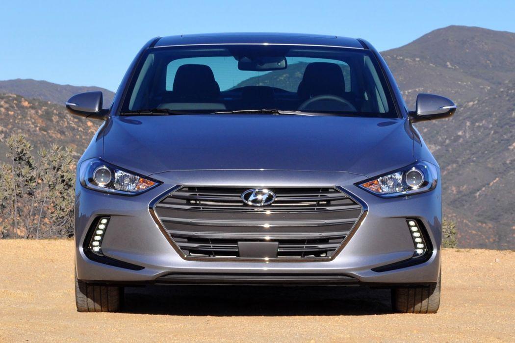 2016 Hyundai Elantra cars sedan wallpaper