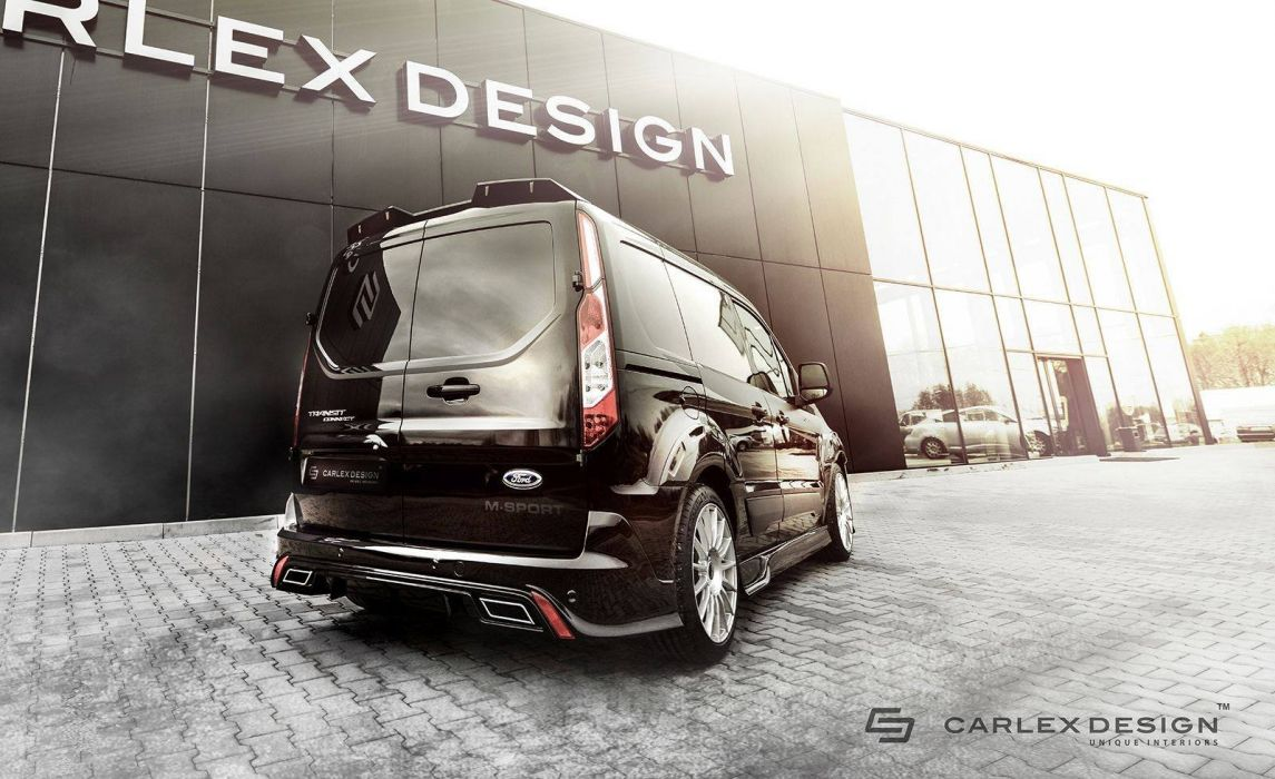 2016 Ford Transit Connect van cars Tuning Bodykit wallpaper
