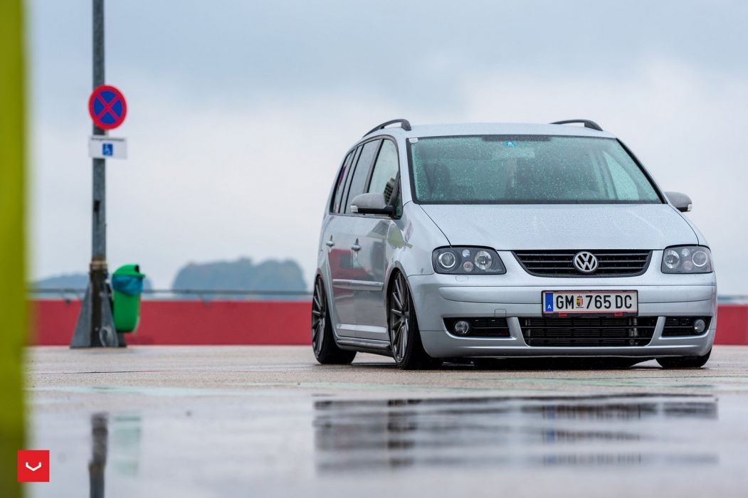 Volkswagen Touran Vossen Wheels cars wallpaper