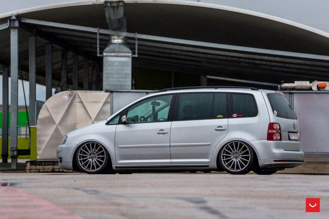 Volkswagen Touran Vossen Wheels cars wallpaper