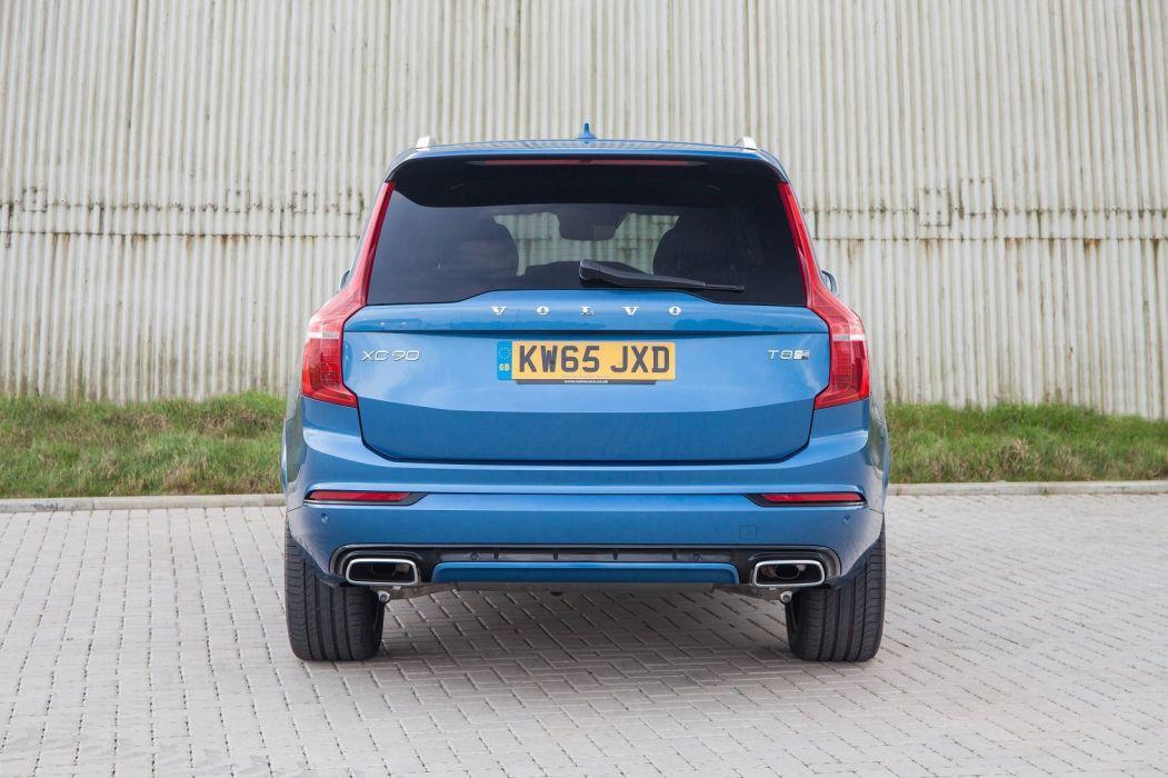 Volvo XC90 T8 R-Design UK-spec cars suv 2016 wallpaper