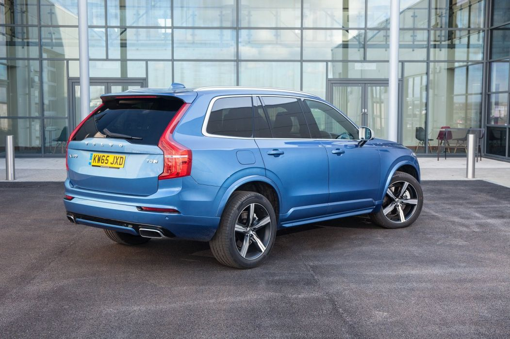 Volvo XC90 T8 R-Design UK-spec cars suv 2016 wallpaper