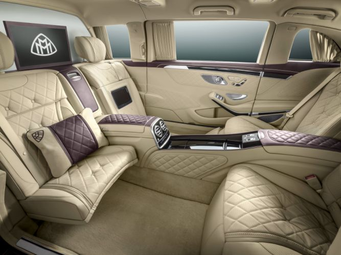 Mercedes Maybach Pullman S600 (VV222) cars limo luxury 2016 wallpaper