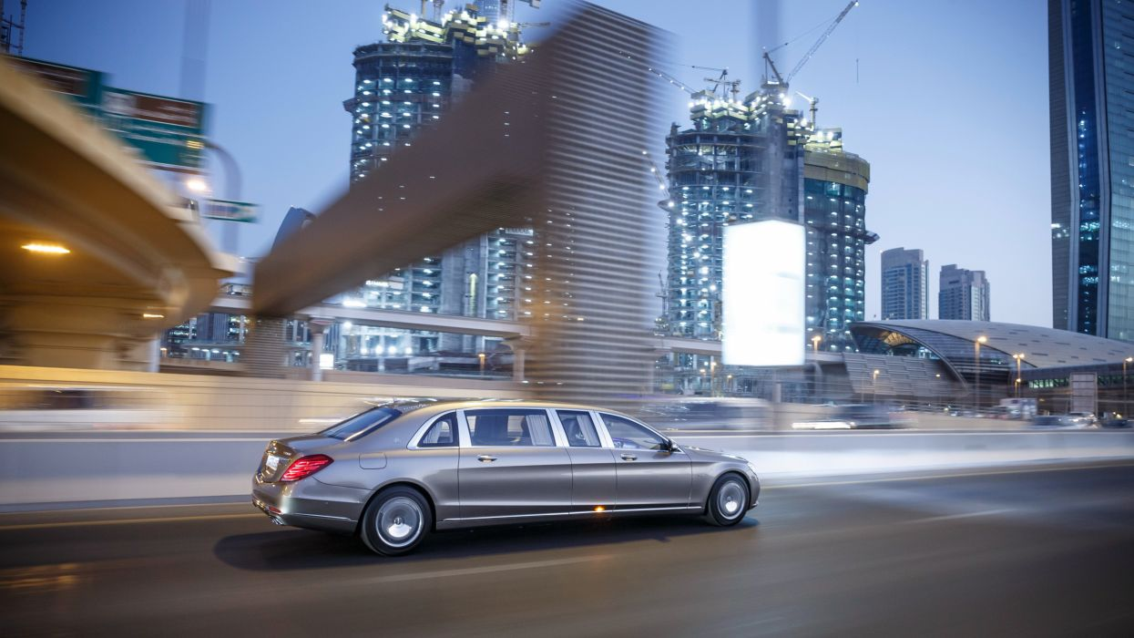 Mercedes Maybach Pullman S600 Vv222 Cars Limo Luxury 2016
