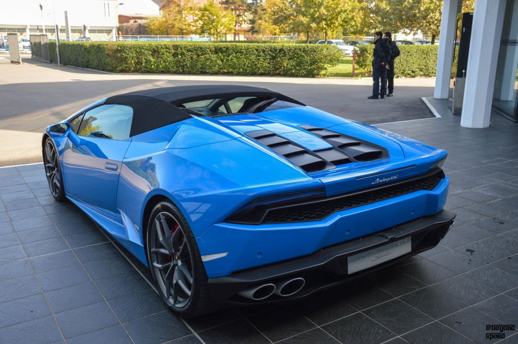 Lamborghini Huracan LP 610-4 Spyder cars wallpaper