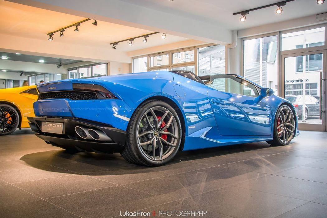 Lamborghini Huracan LP 610-4 Spyder cars wallpaper