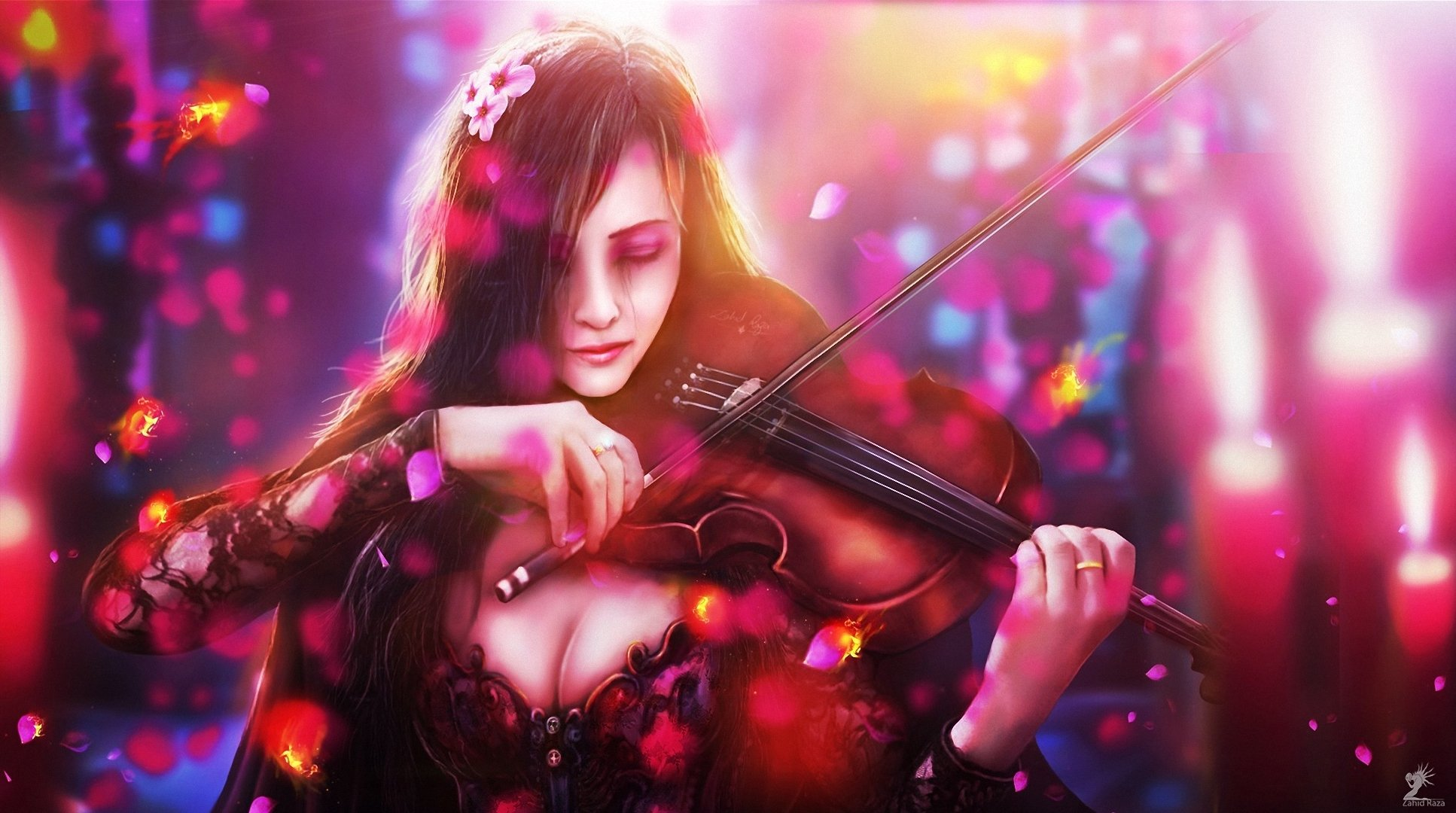 fantasy and magical realism in violin essay