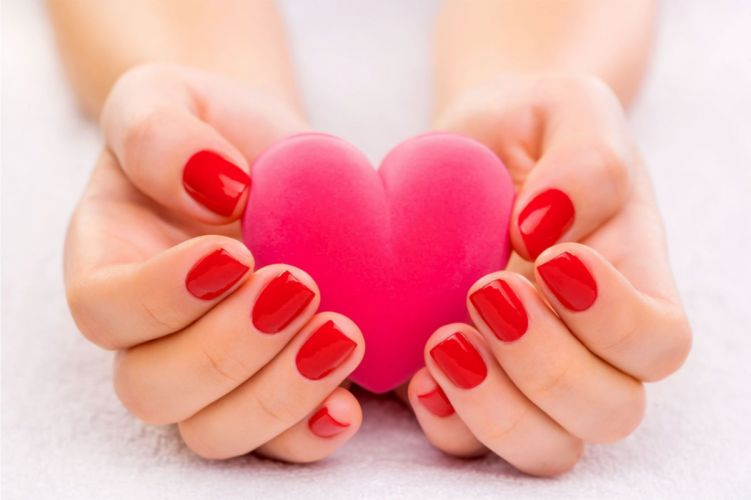 Beauty Beaut Lovely hands heart love wallpaper