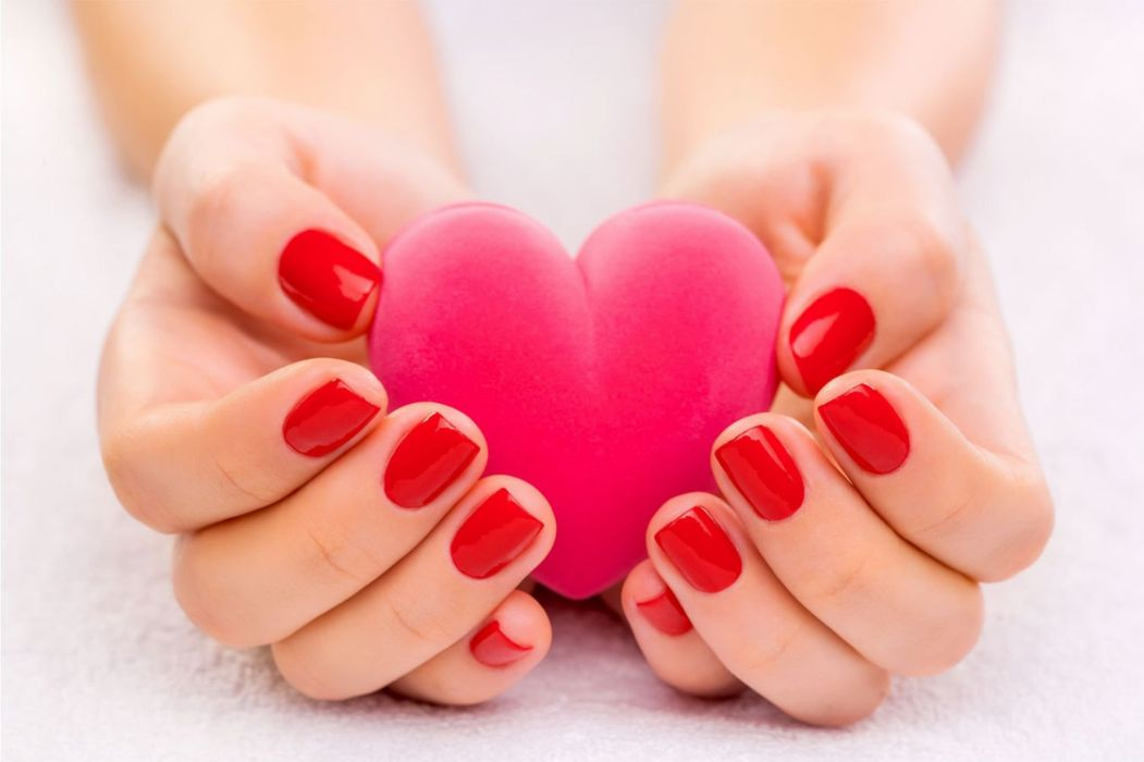 Beauty Beaut Lovely Hands Heart Love Wallpaper 2560x1706